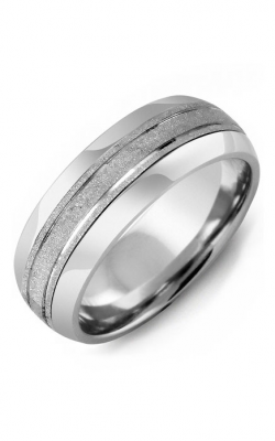 Madani Alternative Metal Half-Round Gold Wedding Band MFI814AW product image