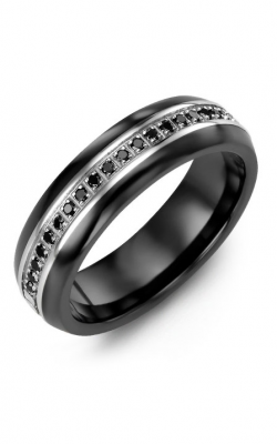 Madani Alternative Metal Half-Round Gold Wedding Band MFT614JW-21B product image