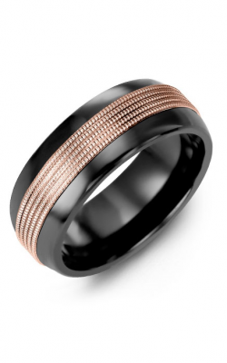 Madani Alternative Metal Half-Round Gold Wedding Band MFK814JP product image