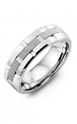 Madani Alternative Metal And Gold Blades Wedding band MIE714RW product image