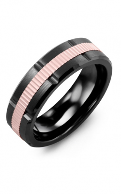 Madani Alternative Metal And Gold Blades Wedding Band MIA714UP product image