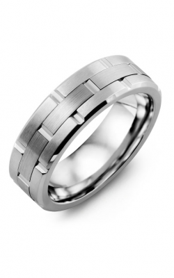 Madani Alternative Metal And Gold Blades Wedding Band MIB714EW product image