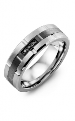 Madani Alternative Metal And Gold Blades Wedding Band MID714EF-3B product image