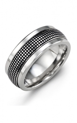 Madani Alternative Metal Gold Prestige Wedding Band MJS114TW product image