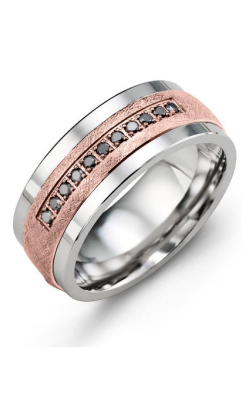 Madani Alternative Metal Gold Prestige Wedding Band MJY914TP-11B product image