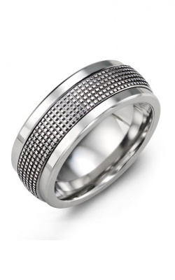 Madani Alternative Metal Gold Prestige Wedding Band MKG914BW product image