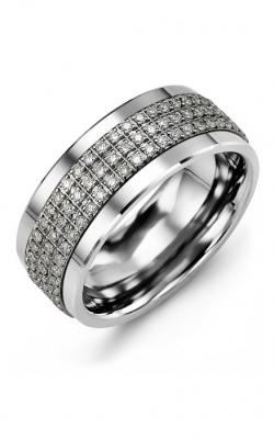 Madani Alternative Metal Gold Prestige Wedding Band MKK914BW-135R product image