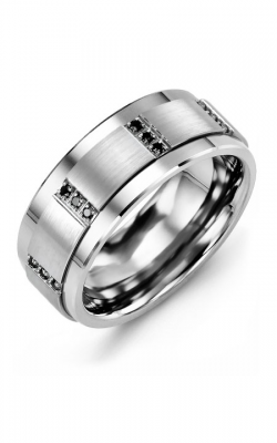Madani Alternative Metal Gold Prestige Wedding Band MLH914TW-12B product image