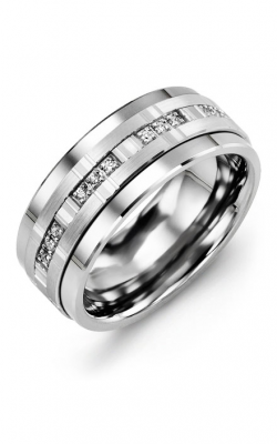 Madani Alternative Metal Gold Prestige Wedding Band MJA914BW-12R product image