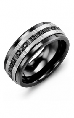 Madani Alternative Metal Gold Prestige Wedding Band MLM914CX-12B product image