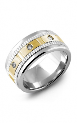 Madani Alternative Metal Gold Prestige Wedding Band MKW114TN-15R product image
