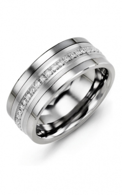 Madani Alternative Metal Gold Prestige Wedding Band MJF914BW-21R product image