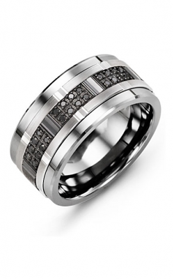 Madani Alternative Metal Gold Prestige Wedding Band MJE114TX-24B product image
