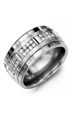 Madani Alternative Metal Gold Prestige Wedding Band MJM114BW-24R product image