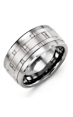 Madani Alternative Metal Gold Prestige Wedding Band MJN114BW-14R product image