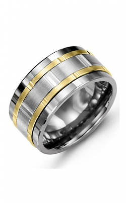 Madani Alternative Metal Gold Prestige Wedding Band MJP114TN product image