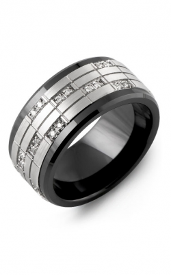 Madani Alternative Metal Gold Prestige Wedding band MKZ114CW-20R product image