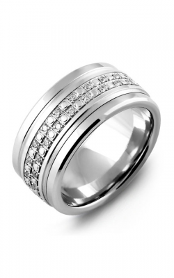 Madani Alternative Metal Gold Prestige Wedding Band MLA114TW-42R product image