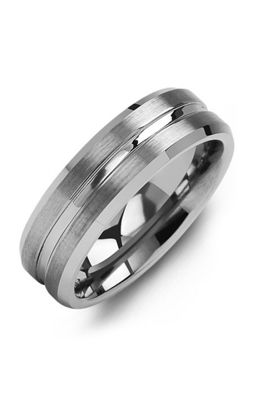 Madani Alternative Metal Wedding band MGE700TT product image