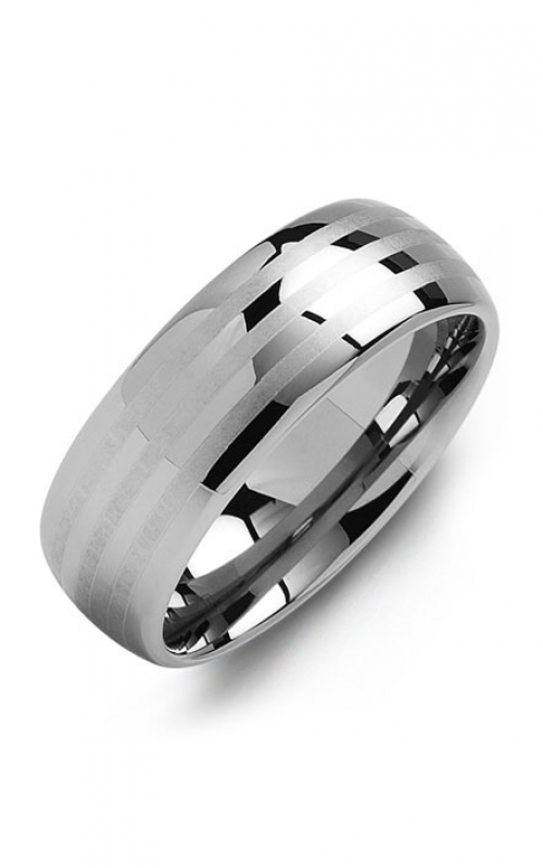 Madani Alternative Metal Wedding band MGK800TT product image
