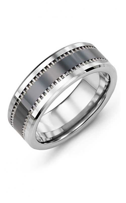 Madani Alternative Metal Wedding band MGZ800TC product image