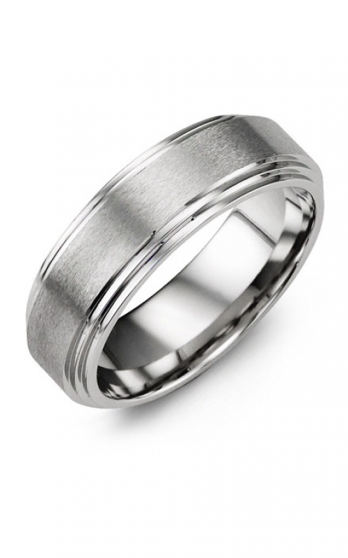 Madani Alternative Metal Wedding band MHQ700BB product image