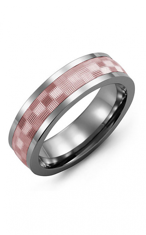 Madani Alternative Metal And Gold Wedding band MAY714TP product image