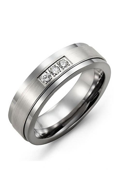 Madani Alternative Metal Gold And Diamond  Wedding band MDG714TW-6R product image