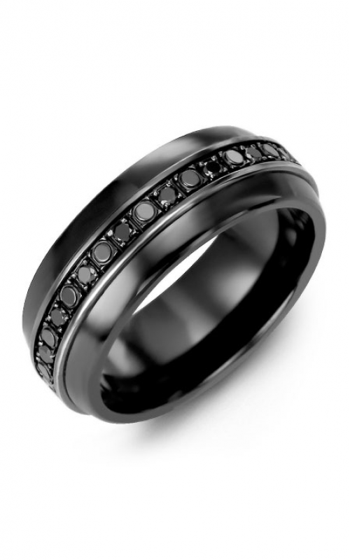 Madani Alternative Metal Half-Round Gold Wedding band MFD814JF-36B product image