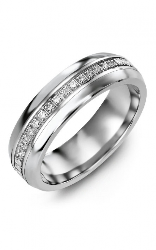 Madani Alternative Metal Half-Round Gold Wedding band MFB614LW-15R product image
