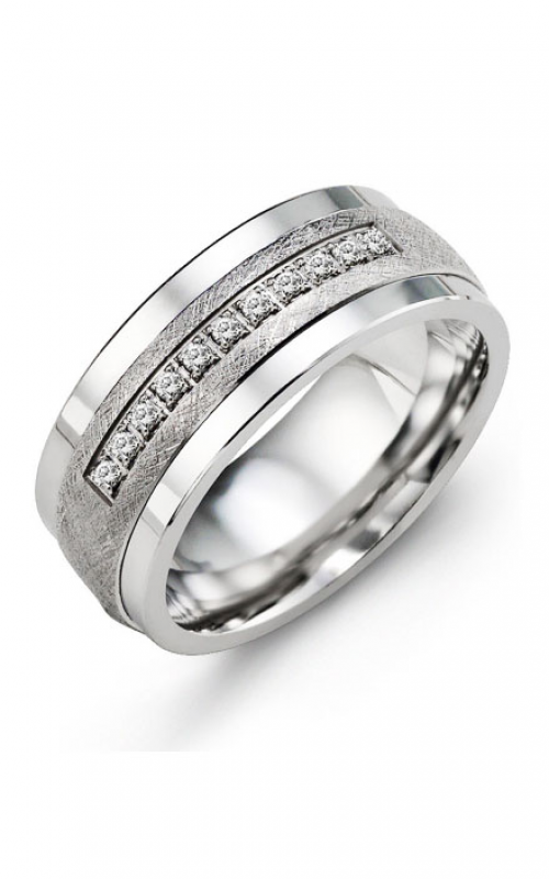 Madani Alternative Metal Gold Prestige Wedding band MKF914TW-15R product image
