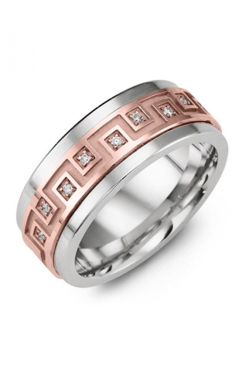 Madani Alternative Metal Gold Prestige Wedding band MJI914BP-9R product image