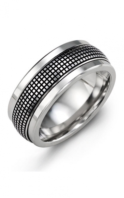 Madani Alternative Metal Gold Prestige Wedding band MJS914TW product image