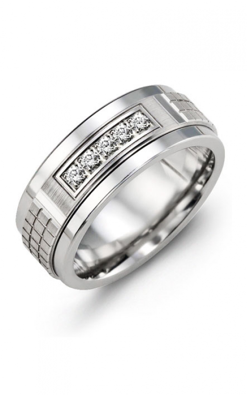 Madani Alternative Metal Gold Prestige Wedding band MKC914TW-15R product image