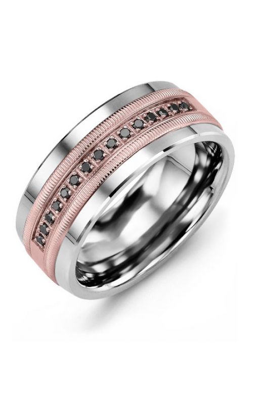 Madani Alternative Metal Gold Prestige Wedding band MKJ914BP-15B product image