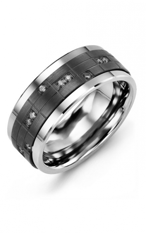 Madani Alternative Metal Gold Prestige Wedding band MKR914TF-14R product image