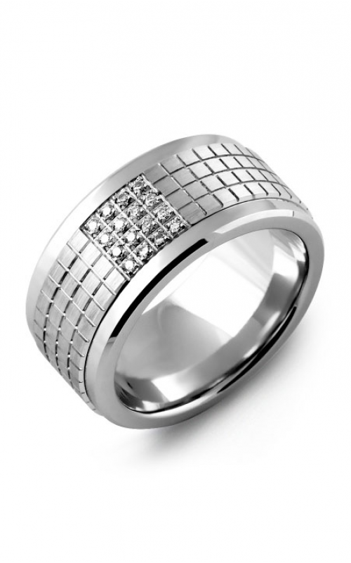 Madani Alternative Metal Gold Prestige Wedding band MKX114BW-16R product image