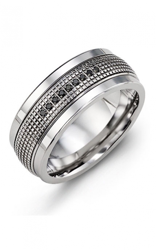 Madani Alternative Metal Gold Prestige Wedding band MJZ914TW-9B product image