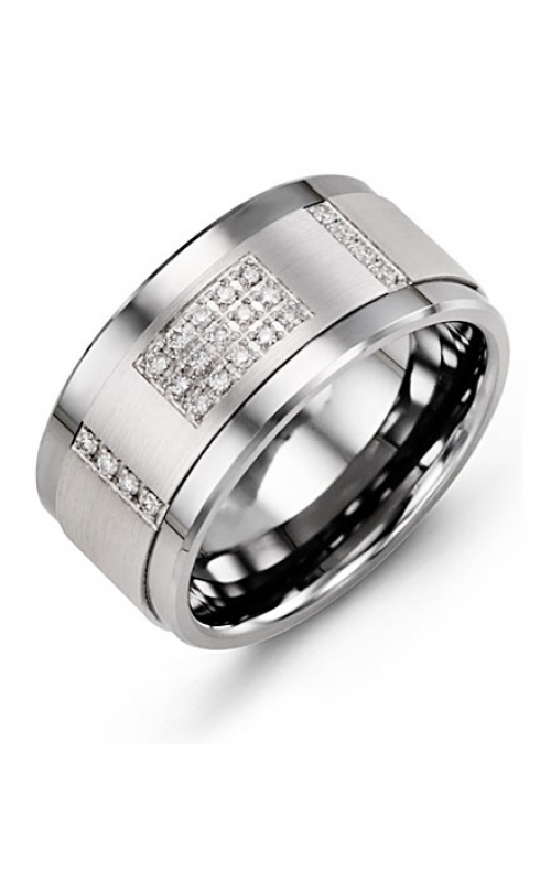 Madani Alternative Metal Gold Prestige Wedding band MJD114BW-31R product image