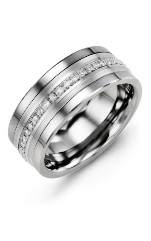 Madani Alternative Metal Gold Prestige Wedding band MJF714BW-21R product image