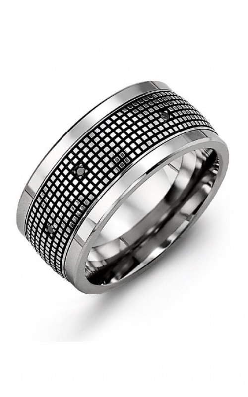 Madani Alternative Metal Gold Prestige Wedding band MJU114BW-12B product image