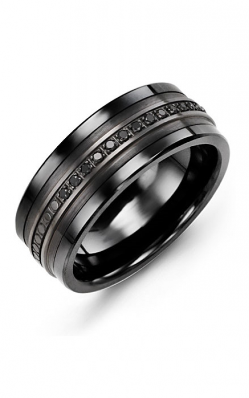 Madani Alternative Metal Gold Prestige Wedding band MKQ914CF-15B product image