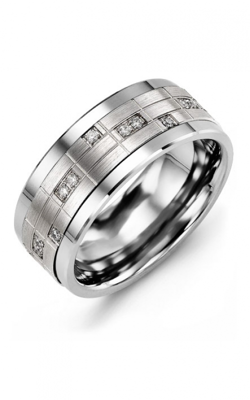 Madani Alternative Metal Gold Prestige Wedding band MKO914TW-14R product image