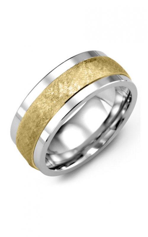 Madani Alternative Metal Gold Prestige Wedding band MKE914TY product image