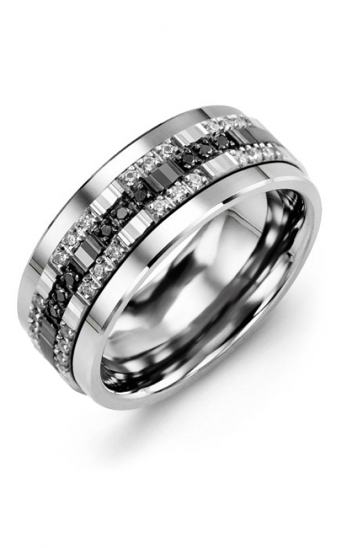 Madani Alternative Metal Gold Prestige Wedding band MJV914TX-81D product image