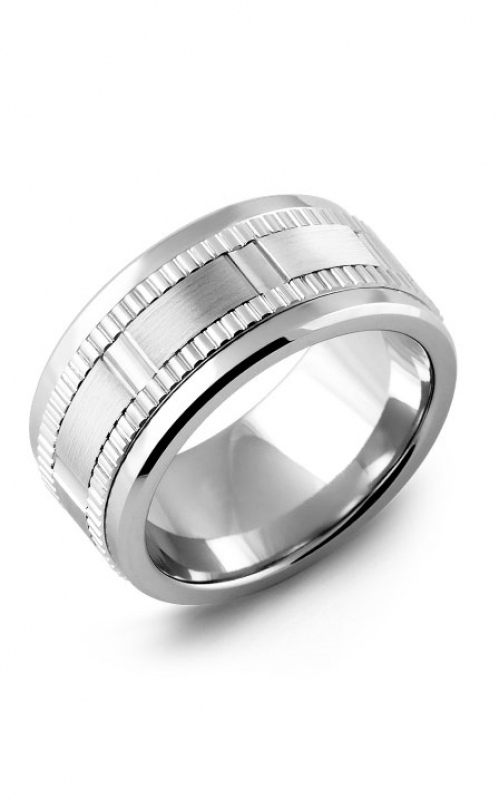 Madani Alternative Metal Gold Prestige Wedding band MLD114BW product image