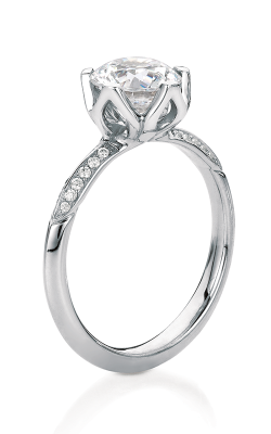 Maevona Scottish Wildflowers Engagement Ring A035-BLU B7 product image