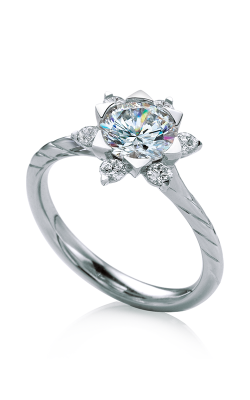 Maevona Scottish Wildflowers Engagement Ring A034-MAL B7 product image