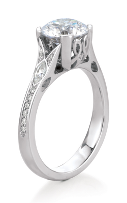 Maevona Scottish Islands Engagement ring A014-VAI PV RD E88 product image