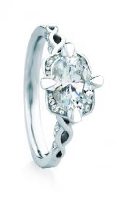 Maevona Scottish Towns Engagement ring A066-HAM OV PV D85 product image